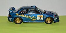 POSSUM BOURNE SUBARU IMPREZA WRC  1999 1:18  AUTOart 89995 s-No 1500 of 3000