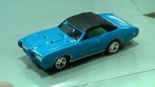 Slot H0 JL 69 PONTIAC GTO blau für FALLER AMS AURORA T-Jet TOMY TYCO AW  NEU OVP