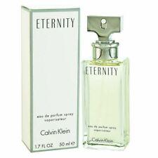 Calvin Klein Eternity 50ml Eau De Parfum Spray Ladies Womens Fragrance