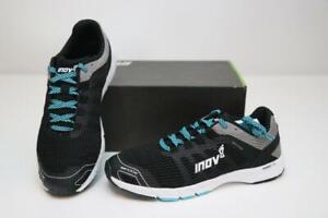 New Inov-8 RoadTalon 240 Men's Running Shoes Trail 8 40.5 Black Grey Blue