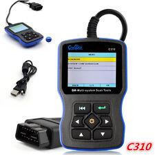 C310 Multi System OBDII Scanner Fault Code Reader Engine Diagnostic Tool For BMW