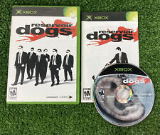 Reservoir Dogs (Microsoft Xbox, 2006) Complete Cib Tested Working