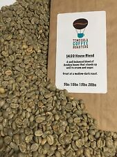 7lb - $4.00 BLEND OF UNROASTED GREEN COFFEE BEANS. GREAT COFFEE SHIPPED FREE!!