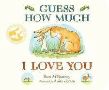 Guess How Much I Love You Board Book 2 to 5 Years Childrens Kids Story Rabbits