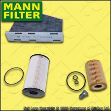 SERVICE KIT for VW PASSAT (3C) 1.6 TDI MANN OIL FUEL CABIN FILTERS (2005-2010)