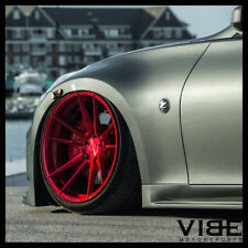 "20"" ROHANA RF2 RED FORGED CONCAVE WHEELS RIMS FITS NISSAN 350Z"