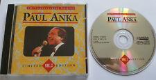 ⭐⭐⭐⭐  LTD. Telefonkarten Edition  ⭐⭐⭐⭐  12 Track CD  ⭐⭐⭐⭐ Paul Anka ⭐⭐⭐⭐