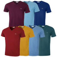 Lacoste Mens 2020 LS Crew Neck Cotton T Shirt TH6712 Long Sleeve Tee 25% OFF RRP