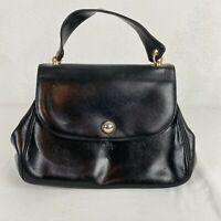 Vintage Beinen Davis Black Gold Hardwear Small Evening Handbag