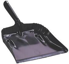 NEW FULTON 182B-20PK BLACK USA MADE HEAVY DUTY GAUGE STEEL OPEN DUST PAN 6291256