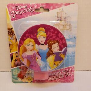 *NEW Disney Princess LED Night Light Cinderella Belle Beauty & Beast