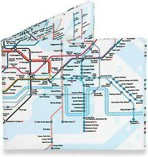 Mighty Wallet Tyvek London Underground Train Tube Map Money Wallet Gift