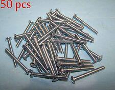 "50pc 8-32 x 1-1/2"" Phillips Truss Head Machine Screws Cabinet Hardware Knob Pull"