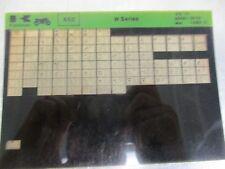 Kawasaki W 650 Parts Microfiche 1966-70 99961-0056