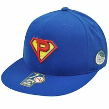 new arrival c3e1f 57692 MLB Pittsburgh Pirates Superman Flat Fitted 7 3 8 Hat