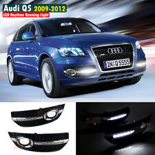 For Audi Q5 2009-2012 LED Daytime Lights DRL Fog Lamps DRL 1Pair
