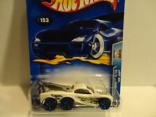 2003 Hot Wheels #153 White Tow Jam w/Blue Y5 Wheels