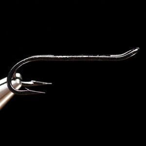 DAIICHI 7131 HOOK - Black Double Salmon & Steelhead Fly Tying Hooks - NEW!