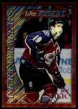 1995-96 Topps Finest Joe Sakic #80