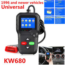 New KW680 CAN OBDII OBD2 EOBD Car Code Reader Diagnostic Scan Tool Fault Scanner