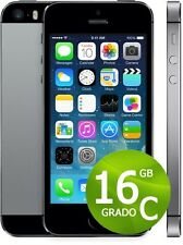 APPLE IPHONE 5S 16GB NERO + ACCESSORI + GARANZIA 12 MESI - SPACE GRAY