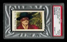 "PSA 9 ""ZORRO"" GUY WILLIAMS 1962 Dutch Film Star Card THE HIGHEST EVER GRADED 1/1"