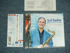 SCOTT HAMILTON  Japan 2005 NM CD+Obi BACK IN NEW YORK