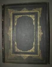 LA FRANCE ET SES COLONIES ATLAS ANCIEN ILLUSTRE 105 cartes par VILLEMIN 1880