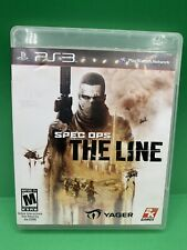 Spec Ops : The Line (Sony Playstation 3, 2012) Ps3 Read Same Day Shipping