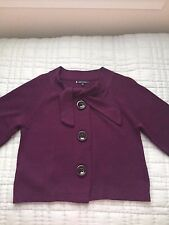 Anne Klein Purple Sweater Small
