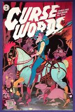 CURSE WORDS 4 April 2017 9.4-9.6 NM/NM+ IMAGE - TRADD MOORE VARIANT COVER!!!