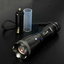 UltraFire 2000LM CREE XML T6 LED Zoomable Flashlight Torch Lamp Light 18650 UPC