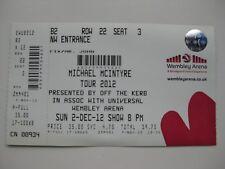 MICHAEL MCINTYRE  LONDON  02/1/2012  TICKET