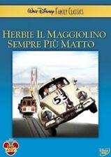 HERBIE IL MAGGIOLINO SEMPRE PIU' MATTO  DVD RAGAZZI