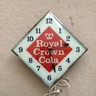 Vintage 1963 RC Royal Crown Cola Soda Pam Clock