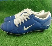 Nike Total 90 III Blue / Silver Football Boots - Size UK 10.5 / EUR 45.5