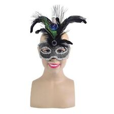 Women's Feather Masquerade Costume Masks