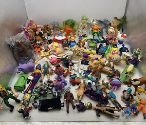 Vintage To Now Happy Meal Toys Lot McDonalds Wendys & More Retired