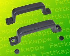 2x Handgriff Haltegriff schwarz 160mm für PKW Anhänger - Gummi mit Metalleinlage
