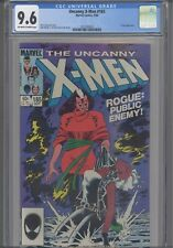 1984 Uncanny X-Men #185 CGC 9.6 Rogue Cover, Forge App: New Frame