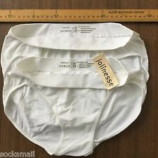 4 pack Jolinesse Size S or M,Women's Underwear white bulk polyester spandex