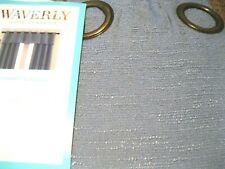 "Waverly Window Valance CIRRUS  WEDGEWOOD BLUE Grommet 42"" x 16""L New"