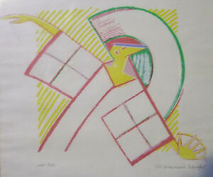 Siebdruck Annemarie Schrofer                                            /5012