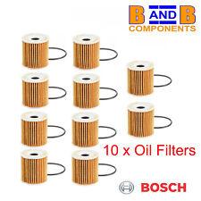 SMART 450 42 CABRIO ROADSTER  OIL FILTER BOSCH x 10 A1225