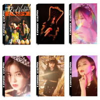30Pcs/set KPOP Red Velvet Album Poster PhotoCard Lomo Card Photo Card Bookmarks