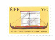 Irlanda-Viking Longship Estampillada sin montar (1863)