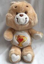 "Kenner Care Bears 1985 Champ Bear Trophy 13"" Plush Stuffed Vintage"
