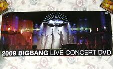 BIGBANG 2009 Big Bang Live Concert Show Korean Poster