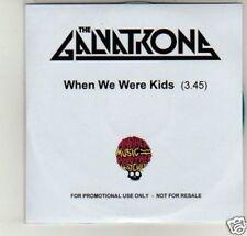 (D525) The Galvatrong, When We Were Kids - DJ CD