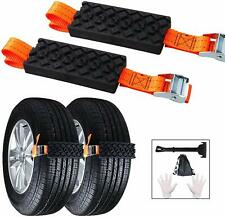 Snow Tire Chains for Car SUV Truck Anti-Skid Safety Emergency Traction Device